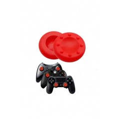 Capuchon analogique joystick silicone antidérapant PS4/Xbox One/PS2/PS3/Xbox 360/PS5 Rouge
