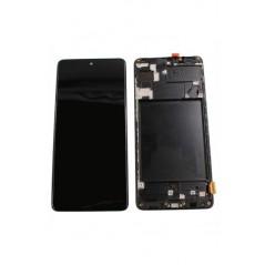 Ecran Samsung Galaxy A71 Noir Avec Châssis