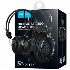 Casque Stéréo Hoco W5 Avec Microphone Noir