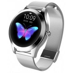 Montre Connectée Smart Watch Femme Garett Naomi Acier