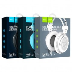 Casque Stéréo Hoco W5 Avec Microphone Blanc