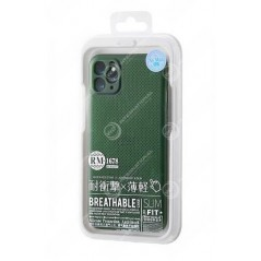 Coque remax breathable iphone 11 vert rm-168