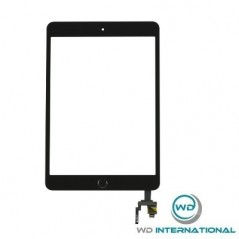 Cristal iPad 3 mini - Negro (sin Home)