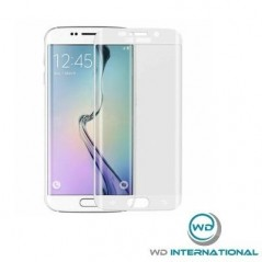 Verre protections S6 Edge Plus Blanc
