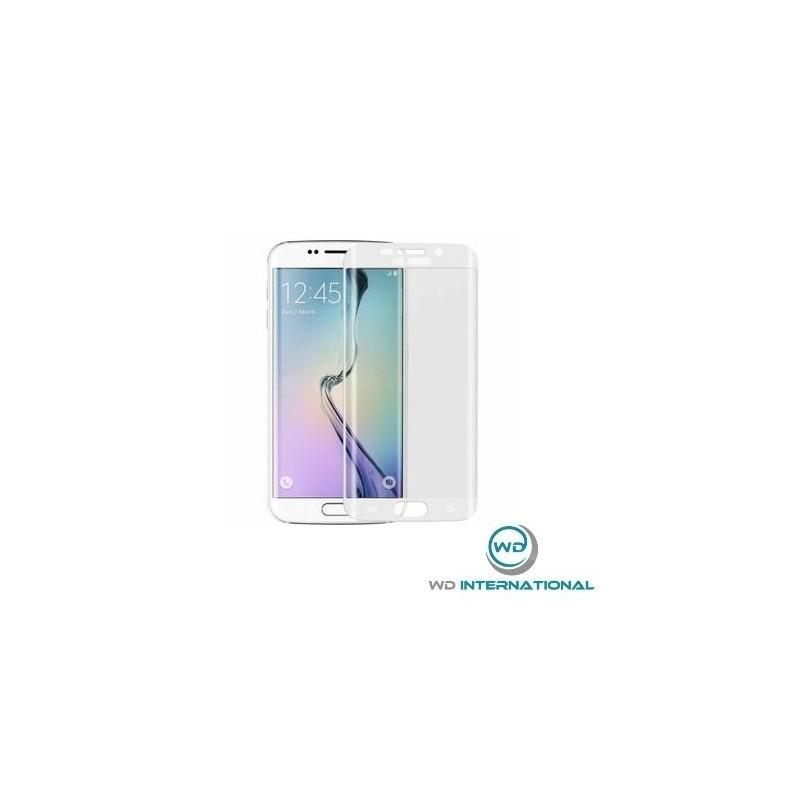Verre trempé incurvé SAMSUNG S6 Edge Plus blanc