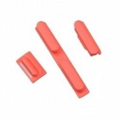 Pack Boutons iPhone 5C Rose + Tiroir SIM
