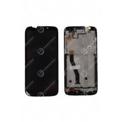 Ecran Motorola E5 Play Noir Avec Châssis Origine Constructeur