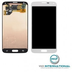 Ecran Samsung S5 mini Blanc (SG-800F) - Service Pack