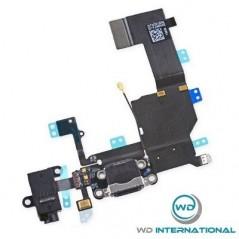 Conector de carga iphone 5c - Negro
