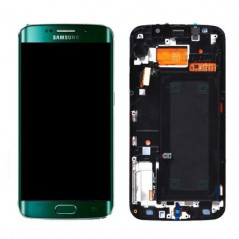 Ecran Samsung Galaxy S6 Edge/SM-G925F - Vert (Service Pack)