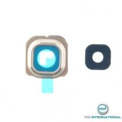 lente de cà¡mara trasera Samsung S6 Edge G925F oro