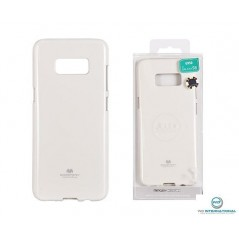 coque silicone Goospery Jelly Samsung S8 Blanc