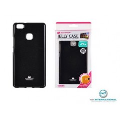 Coque silicone Goospery Jelly Huawei P8 lite 2017 Noir
