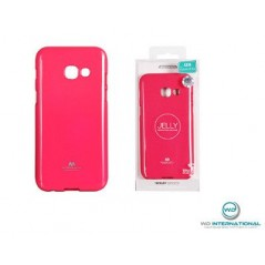 Coque silicone samsung A3 2017 Rose Goospery Jelly