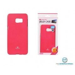 Coque silicone samsung S6 Edge + Rose Goospery Jelly