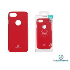Coque silicone samsung J1 2016 Rouge Goospery Jelly