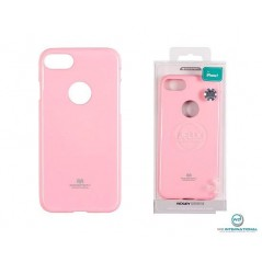 Coque silicone Samsung Note 8 Light Pink Goospery Jelly