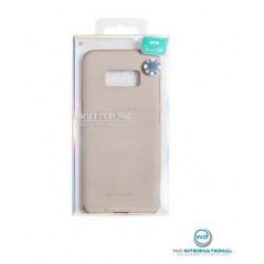 Coque silicone Huawei P10 Lite Beige Matt Soft Feeling