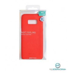 Coque silicone Samsung J7 2016 Rouge Matt Soft Feeling