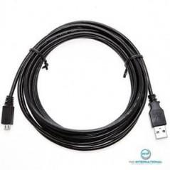 câble Micro USB 3 mètre Noir