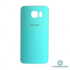 Back Cover Samsung S6 Bleu