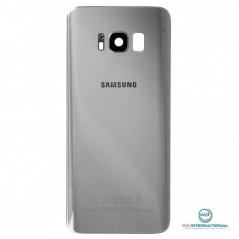 Back Cover Samsung S8 Argent