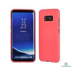 Coque silicone Samsung A5 2017 Pink Matt Soft Feeling