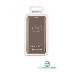 View Cover original Or pour Samsung S7