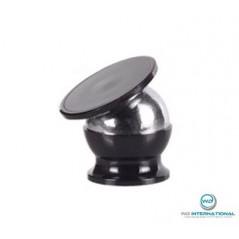Support voiture magnétique premium noir