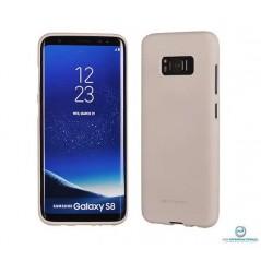 Coque silicone Samsung J7 2017 Beige matt Soft feeling