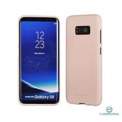 Coque silicone Samsung S8 Pink Sand Matt Soft Feeling