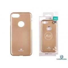 Coque Silicone Iphone 4 OR Goospery Jelly