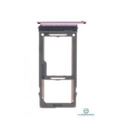 Tiroir SIM Violet Samsung S9 / S9+