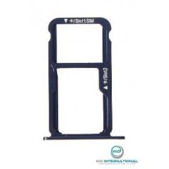 Tiroir SIM Bleu Huawei P8 Lite 2017