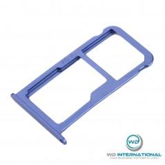 Tiroir SIM Bleu Huawei P10 Lite
