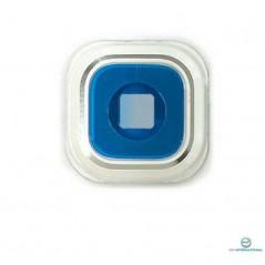 Lentille de Caméra pour Samsung Galaxy Note 5 Blanc
