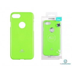 Coque Silicone Goospery Jelly Vert Samsung A5 2018