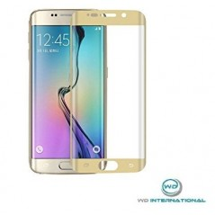 Verre trempé incurvé Samsung Galaxy S6 Or