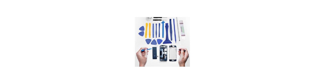 Sélection d'outillages -La réparation pour  smarphones - WD